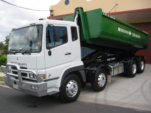 Skip Bins Brisbane - Big Bins Truck