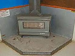 Stove Insulation is often Asbestos